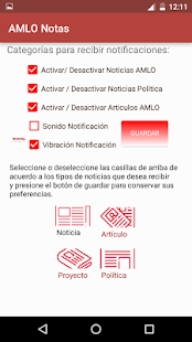 AMLO Notas - náhled