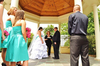 Photo: Marriott Greenville - Ceremony in progress 7/10 - Photo courtesy Noel Snelgrove Photography - http://WeddingWoman.net