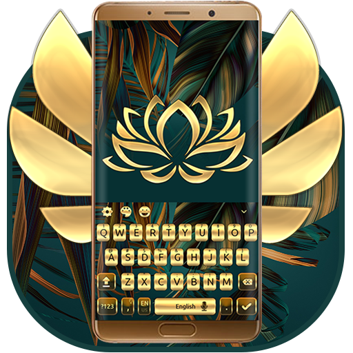 Gold Keyboard For Mate 10 file APK Free for PC, smart TV Download