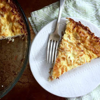 Joy Bauer'S Low-Calorie Quiche Lorraine with Spinach Crust Recipe