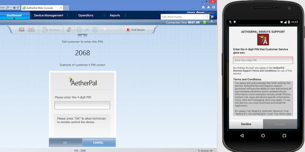 AetherPal Remote Support Resource for LG Devices - Apps on