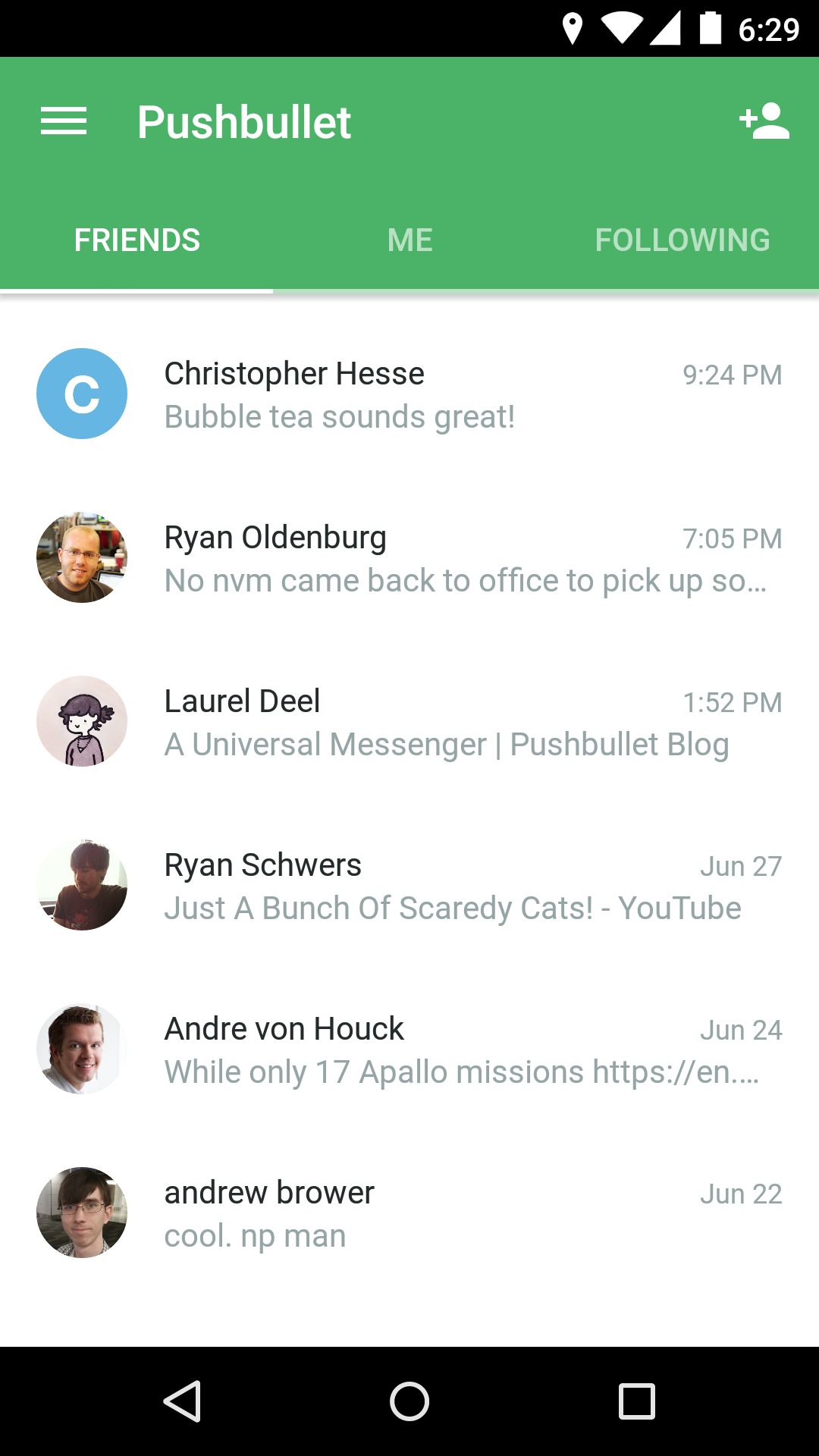 Pushbullet - SMS on PC screenshot #6