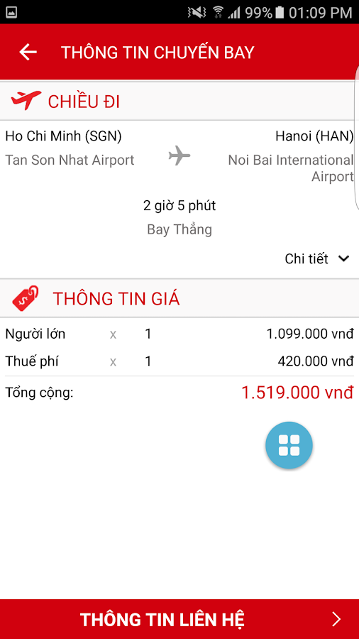 Cheap promotion airtickets- screenshot