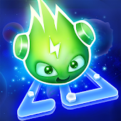 Glow Monsters: Labyrinth Spiel