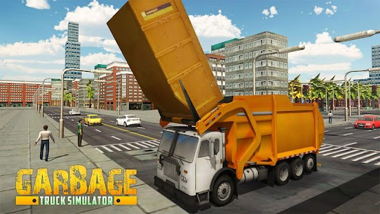 Garbage Truck Driver SIM - náhled