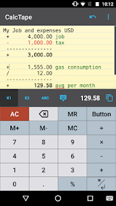 CalcTape Free Tape Calculator 2.1.1(201701041441) Pro