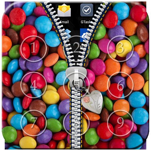 Candy Passcode Zipper Lock