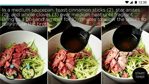 SideChef: Step-by-step cooking  screenshots 4