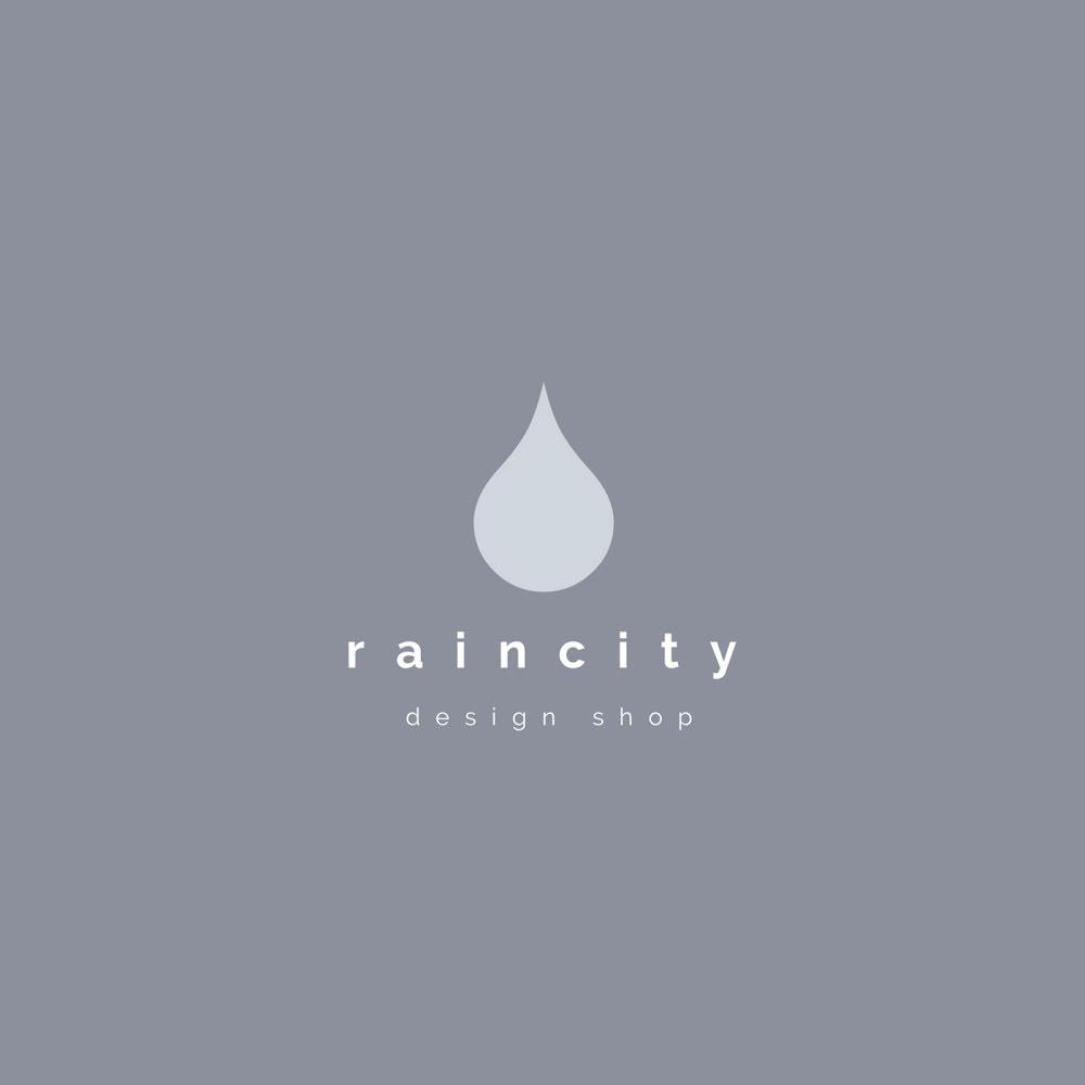 Rain City Design Shop - Logo Template