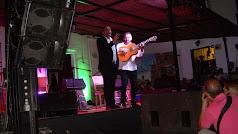 Recital flamenco en Ohanes.