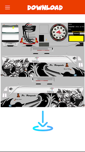 Livery Bussid PO Haryanto V2 1 screenshots 2