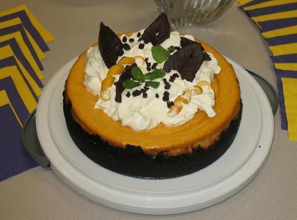 Pumpkin-ginger Cheesecake Recipe