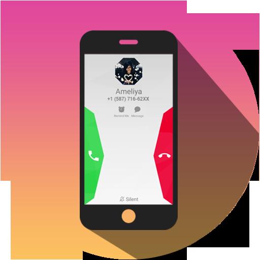 HD Phone 8 i Call Screen Lite