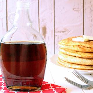 Sugar Free Maple Syrup Recipe