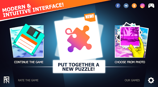 Unlimited Puzzles - free jigsaw for kids and adult filehippodl screenshot 14