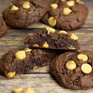 Flourless Chocolate Peanut Butter Chip Cookies Recipe