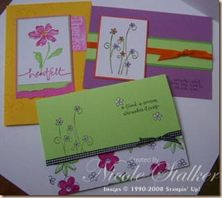 Bold Brights cards