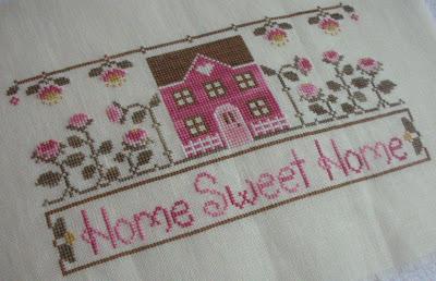 Nicole's Needlework: Home Sweet Home Finished!
