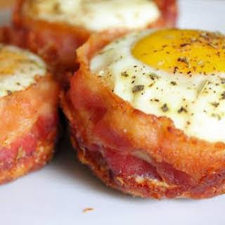 Bacon Egg Muffin Cups.