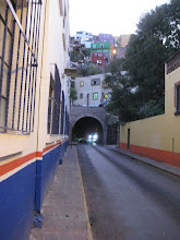 Photo: GTO is undercut with a series of tunnels, originally to divert the river but now used for auto and pedestrian traffic to help with gridlock.