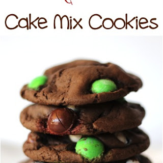 Chocolate Coconut M&M Cake Mix Cookies Recipe!