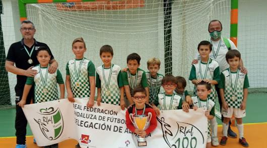 Gádor corona a los campeones del fútbol sala a nivel provincial