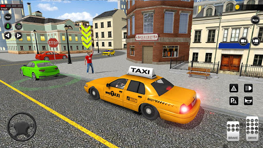 City Taxi Driving simulator: online Cab Games 2020 screenshots 1