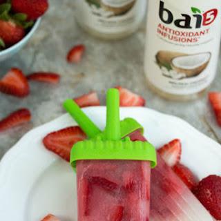 Coconut Strawberry Popsicles Recipe