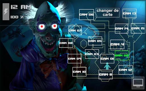 Zoolax Nights:Evil Clowns Free  captures d'u00e9cran 2