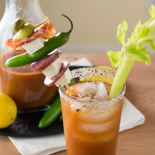 Homemade Italian Style Spicy Bloody Mary Mix