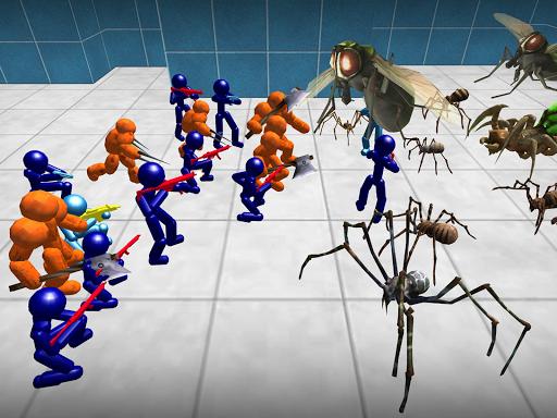 Stickman Spiders Battle Simulator 1.01 screenshots 10