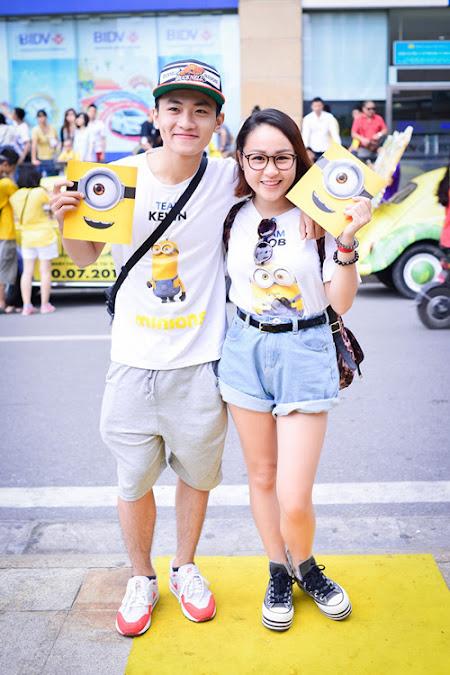 Áo Thun Minions Được Đông Đảo Bạn Trẻ Ưa Thích