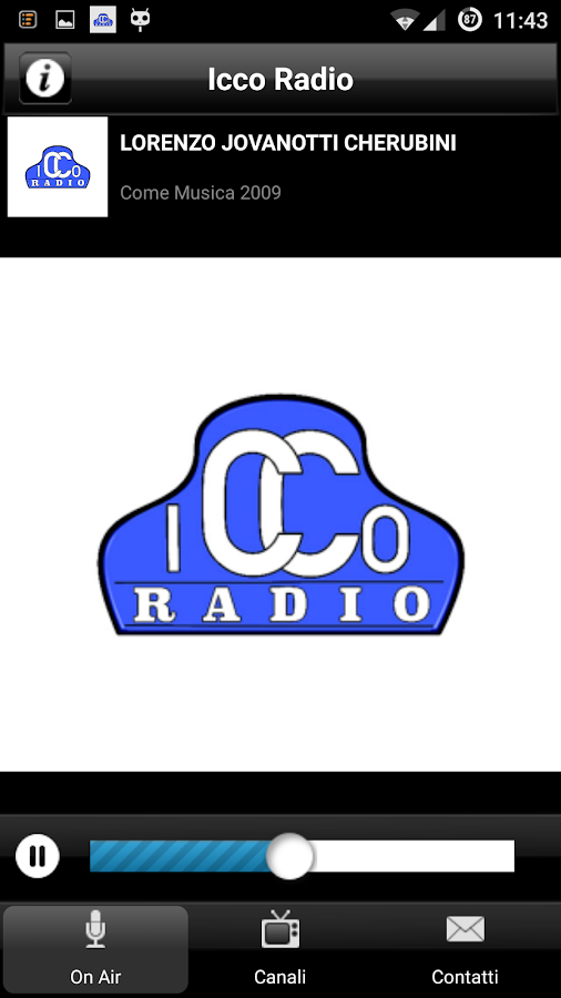 Icco Radio- screenshot