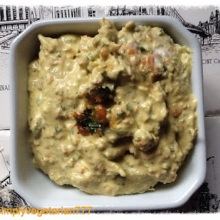 Vegan Garden Vegetable Dip