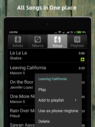 Music Player screenshot 15
