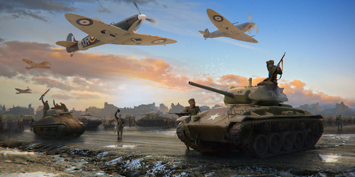 World at War: WW2 Strategy MMO captures d'u00e9cran 2