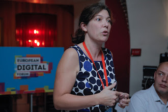 Photo: Karen Boers, co-author of the Belgium Startup Manifesto and co-founder and managing director of startups.be