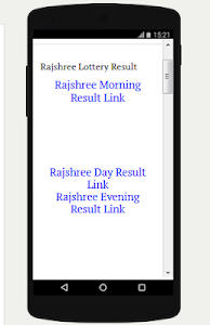 Download Rajshree Lottery Result APK latest version app for android
