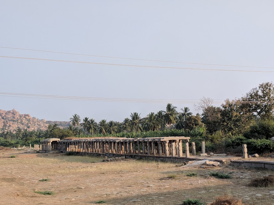 Hampi-Vijayanagara-markets