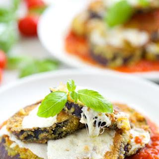 Grain Free Eggplant Parmesan