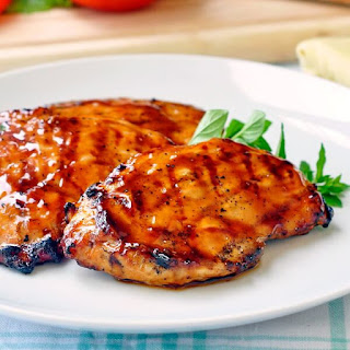 Brown Sugar Balsamic Glazed Chicken.