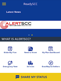 ReadySCC - Santa Clara County- screenshot thumbnail