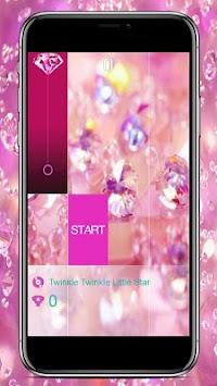 Pink Diamond Magic Tiles 2018 apk screenshot