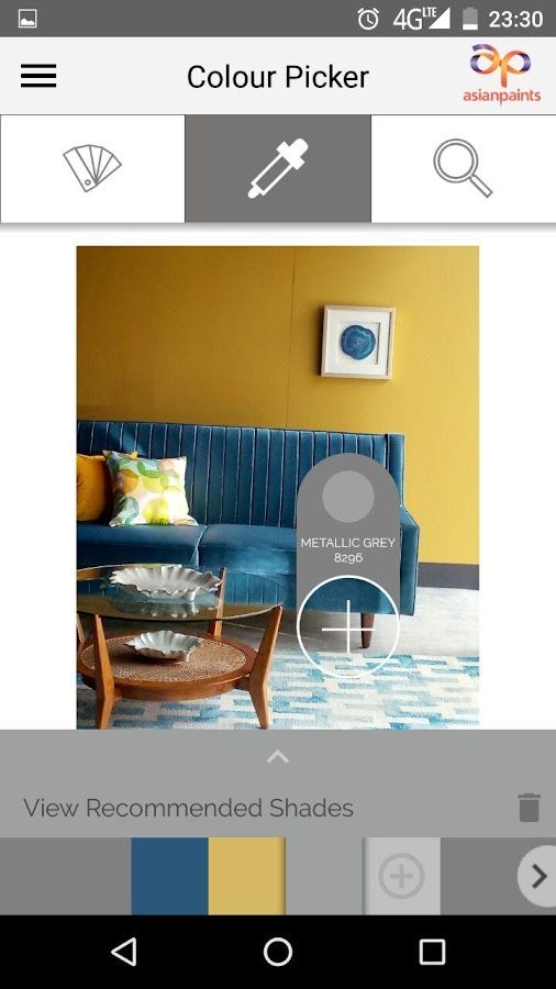 Colour scheme pro asian paints android apps on google play - Paint for exterior walls set ...