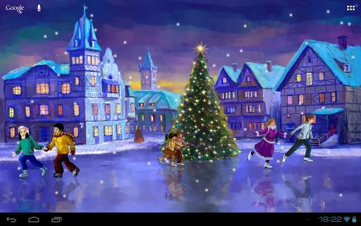 Christmas Rink Live Wallpaper screenshot 9