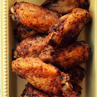 Dry Rub Chicken Wings Recipe