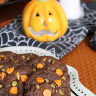 CHOCOLATE DOUBLE PUMPKIN CHIP COOKIES Recipe