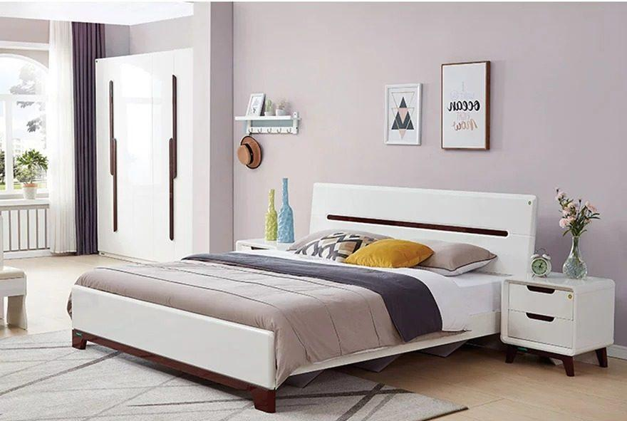 Giường ngủ gia đình phong cách hiện đại GHS-9047 » Nội Thất Đại Nam