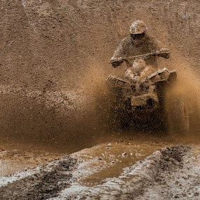 High speed... by Joanna Maciszka - Sports & Fitness Motorsports ( water, games, quad, mud, bowling )