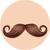 PG Facial Decor - Hair Sticker Pack from PhotoGrid